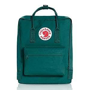 Fjallraven Kanken Backpack - Ocean Green, 38 x 27 x 13 cm/16 Litre