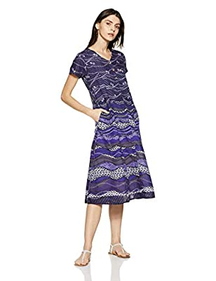 AND Women's A-Line Midi Dress