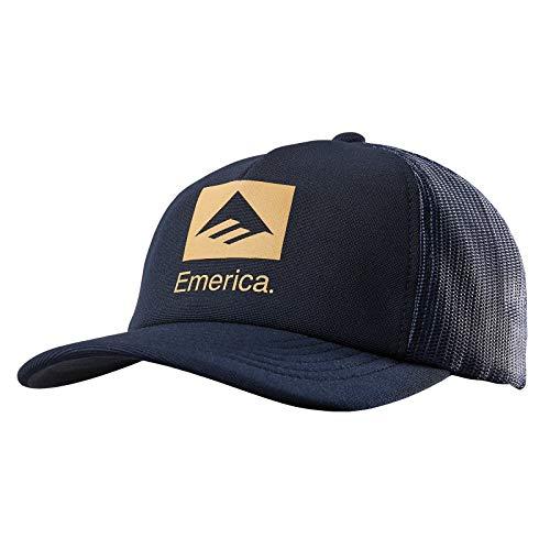 Emerica Brand Combo Trucker Cap One Size Dark Navy