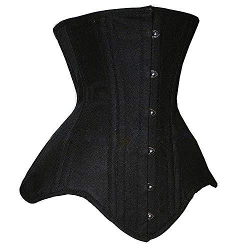 Women's clothing Double Corset en Acier pour Femmes, Formateur de Maintien de la Taille pour Le contrôle de la Perte de Poids, remodelage du Corps du Corset ZDDAB