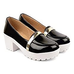 Bare Soles High Heel Loafers-Hf-36