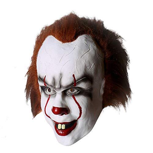 MingoTor Clown Maske Cosplay Helm (Hanswurst Kostüm)