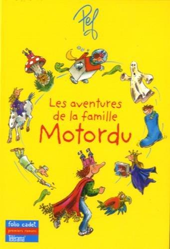 Les aventures de la famille Motordu : Coffret composé de 8 livres