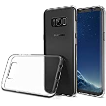 Samsung S8 Hülle, FayTun Samsung Galaxy S8 Schutzhülle Case Silikon- Crystal Clear Ultra Dünn Durchsichtige Backcover Handyhülle Case für Samsung Galaxy S8 (Transparent)