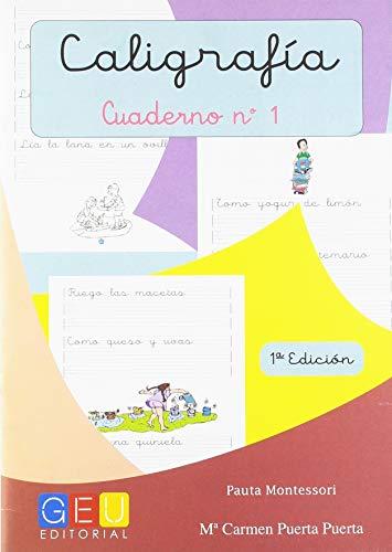 Caligrafía con Pauta Montessori - Cuaderno 1