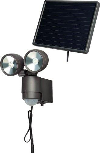 Brennenstuhl 1170930 Éclairage Solaire Lampe LED-Spot Sol IP44 noir
