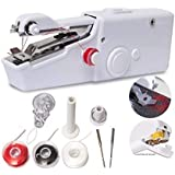 KUNTU Sewing Machines for Home Tailoring use, Electric Sewing Machine, Mini Portable Stitching Machine Hand Held Manual Silai Machine