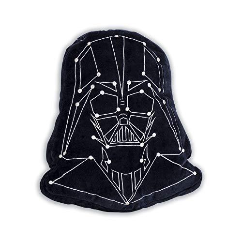 41s2ZsG70lL - Star Wars Cojín con Forma de Darth Vader niños, Ideal para Cualquier Dormitorio o guardería