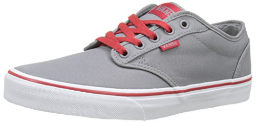Vans Mn Atwood, Sneakers Basses Homme Gris (Retro Varsity)