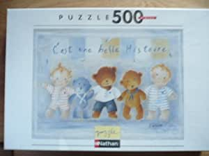 Puzzle chien cavalier king charles 500 pieces - nathan - 872220