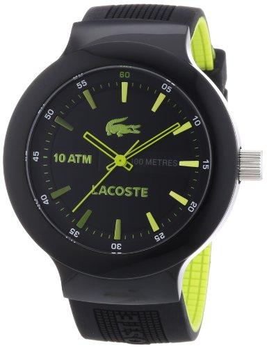 Lacoste - 2010656 - Montre Homme - Quartz Analogique - Bracelet Silicone Noir