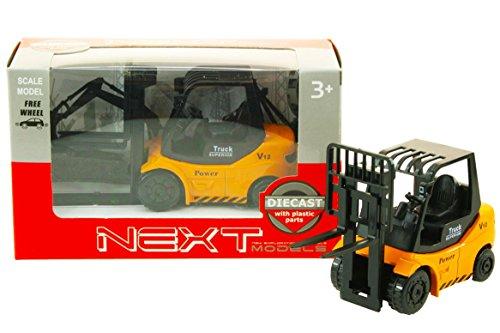 Toi-Toys-Die-Cast Carretilla elevadora en Caja de Ventana vehículos con Funciones, 21894