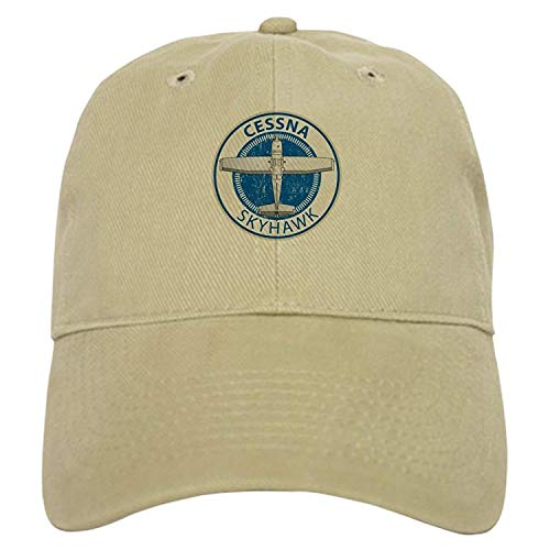 Aviation Cessna Skyhawk Baseball - Baseball Cap with Adjustable Closure, Unique Printed Baseball Hat
