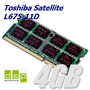 4GB Speichererweiterung für Toshiba Satellite L675-11D