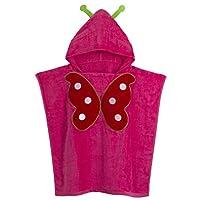 mama stadt Hooded Beach Poncho Towels for Kids Boys Girls 100% Cotton Bath Robe Swim Towel Beach Cape 60 * 120CM