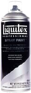 Liquitex Professional Peinture Acrylique Aérosol 400 ml Argent Riche Iridescent