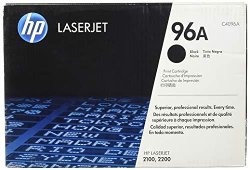 HP 96A Schwarz Original LaserJet Tonerkartusche, Verpackung kann variieren (2200 Hp Laserjet Drucker)