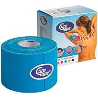 CureTape Kinesiologie Tape für Sport & Medizin blau 5 m x 5 cm, 1 Rolle preisvergleich bei billige-tabletten.eu