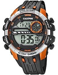 Calypso Reloj Digital para Hombre de Cuarzo con Correa en Plástico K5729/2