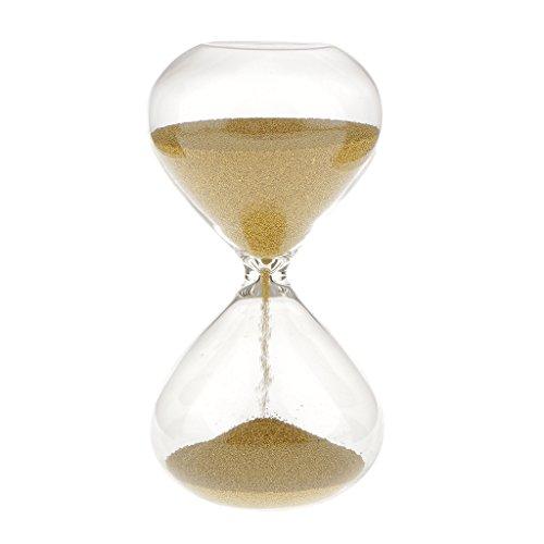 3min Decoración Hogar Reloj de Arena Temporizador Oro