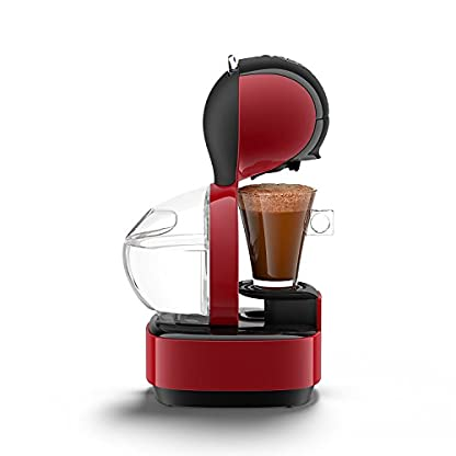 Krups-KP1305-Nescaf-Dolce-Gusto-Kaffeekapselmaschine-Lumio-1600-W-automatisch-rot-Generalberholt