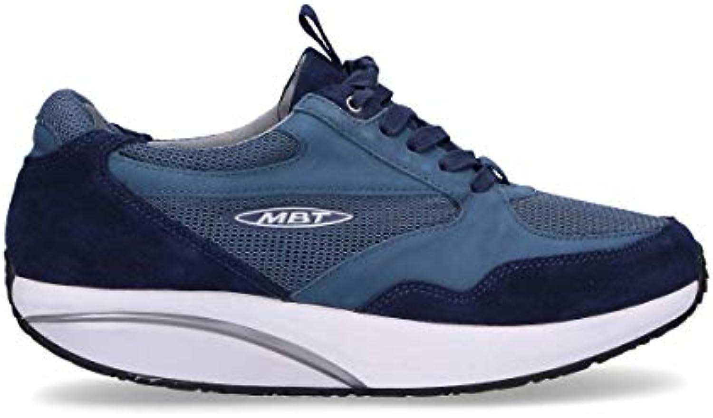 Donna  Uomo MBT scarpe da ginnastica Uomo SINILUXblu Camoscio Blu Aspetto elegante Primo grado della sua classe Boutique preziosa | Prestazione eccellente  | Gentiluomo/Signora Scarpa