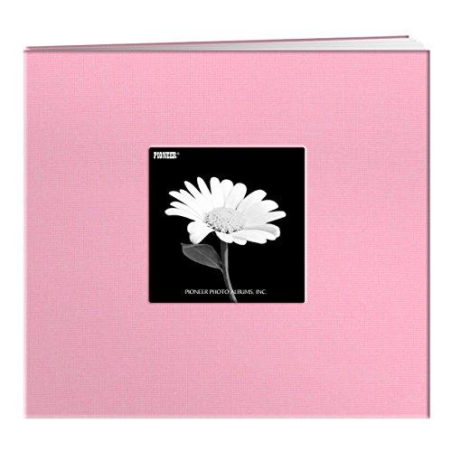 Pioneer 30,5 x 30,5 cm Buch, Stoffeinband, Album mit Fenster, rot, Dreamy Pink, 8