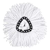 Bicaquu Replacement Mop Heads Microfiber Triangles Spinning Mops Head for Floor Easy Cleaning