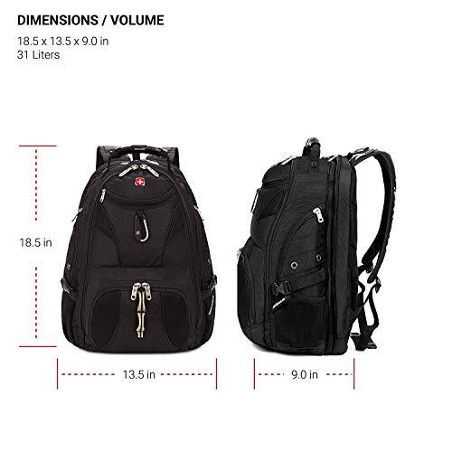 Backpack -Scansmart /Black - 19002215 Image 7