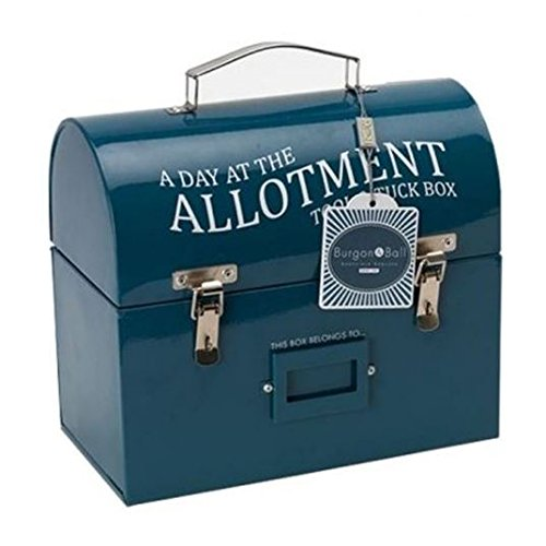 Burgon & Ball Tool & Tuck Box - Essence Bleu