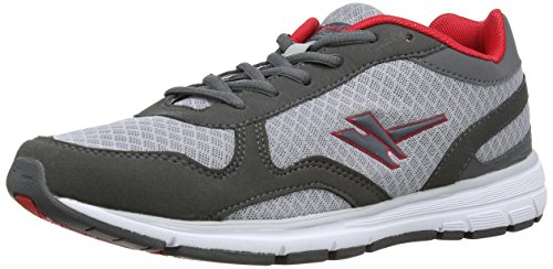 Gola C25k, Running homme Multicolore - Mehrfarbig (Charcoal/Red/Grey)