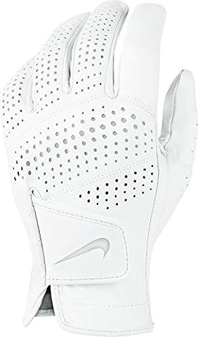 Nike Tour Classic II-Regular links Hand Herren Handschuhe L Blanco / Gris