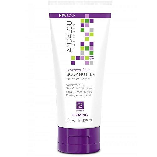 Andalou   Lavender Shea Firming Body Butter   1 x 236ml -