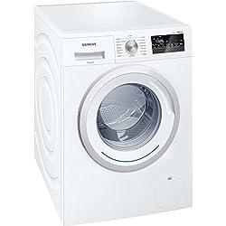 Lave linge Frontal Siemens WM12N260FF - Lave linge - Pose libre - capacité : 8 Kg - Vitesse d'essorage maxi 1200 tr/min - Moteur à induction - Classe A+++ -10%