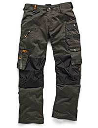 Scruffs - Pantalon - Homme Dark Lead