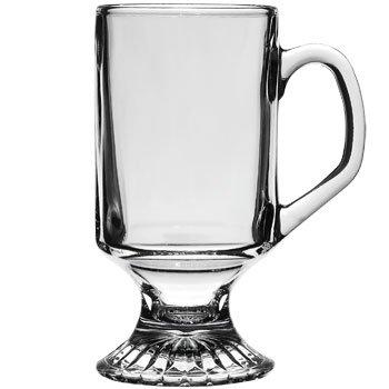 Anchor Hocking Irish Coffee Glas klar Tasse Tassen, Set von 2 Anchor Hocking Dessert