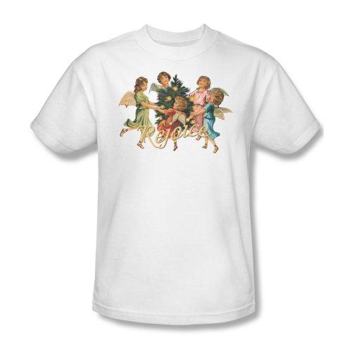 Rejoice-Maglietta da uomo, colore: bianco Bianco