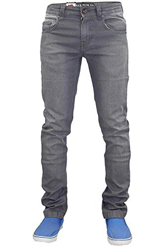 Pantalones Vaqueros Hombre TrueFace TF022 Gris Lavado