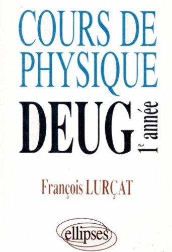 Cours de physique : DEUG 1re année