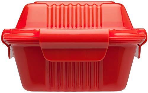 Aladin 451030 Boîte à Repas Rouge 0,35 L