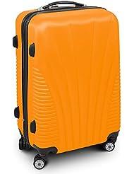 """Trolley Reisekoffer Reisetasche Gepäcktasche Größe L """"FUNNEL"""" Farbe Orange"""
