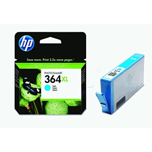 HP original - HP - Hewlett Packard OfficeJet 7515 (364XL / CB323EE#301) - Tintenpatrone cyan - 750 Seiten - 6ml (7515 Hp Druckkopf)