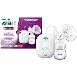 Philips Avent SCF301/02 Elektrische Kompakt-Milchpumpe, inkl. Naturnah-Flasche, weiß