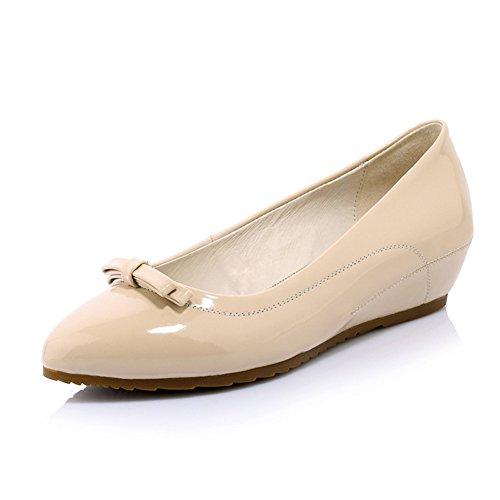 moda scarpe signora piselli Egg Roll scarpe Allinterno di scarpe di alta  arco aguzzo a54945bc548