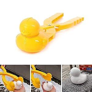 Simu EU Schneeball Maker Clip Ente, Entenform Schnee Clip Sand Ton Form Werkzeug für Kinder Erwachsene