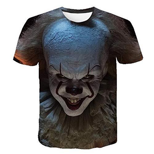 3D Print Weste Herren Tank Top Fitness Ärmelloses Shirt Herren Bekleidung Sportswear Unterhemd Sommer,Lässiger 3D Cartoon Druck - 2 Dark Grey S