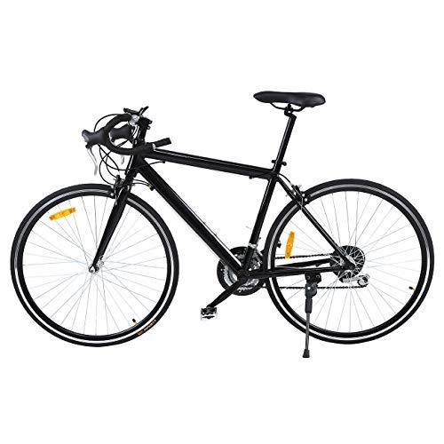 Ridgeyard 26 Aluminio bicicleta de carretera Road Bike 21 velocidades 700cc(negro)