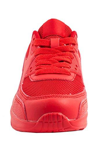 Sneaker unisex alla moda   Bambini Uomo Donna Sport Scarpe da corsa   Scarpe da ginnastica Rosso (rosso)