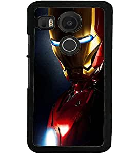 ColourCraft The Warrior Design Back Case Cover for LG GOOGLE NEXUS 5X