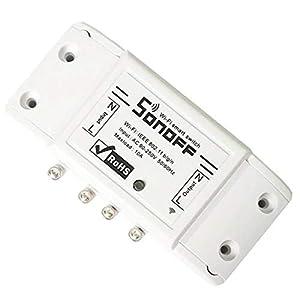 LinHut Bequemer Gamecontroller Smart WiFi-Schalter DIY Smart Wireless Remote-Schalter Domotica WiFi-Lichtschalter Smart Home Controller für Freizeit und Unterhaltung